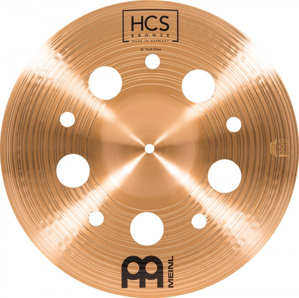 "Meinl 16"" HCS Bronze Trash China"