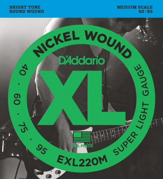 D'Addario EXL220M