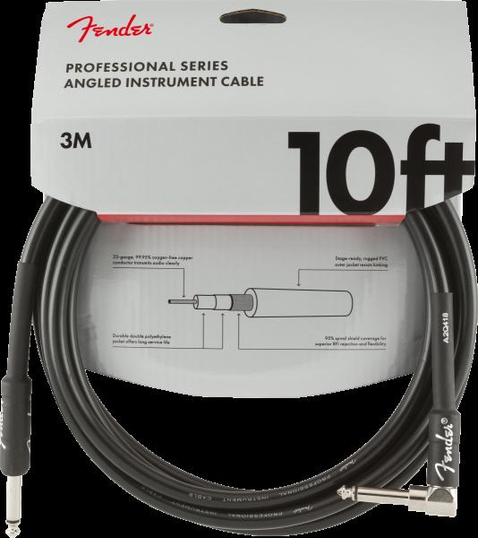 Fender Professional Instrument Cable 3m Winkel
