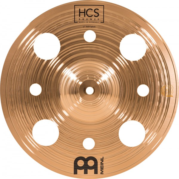 "Meinl 12"" HCS Bronze Trash Splash"