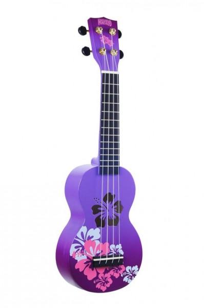 Mahalo Designer Hibiscus Purple Burst