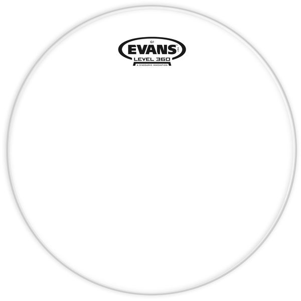 "Evans G1 Clear Tom 8"""