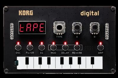 KORG Synthesizer NTS1 / Nu:Tekt, zum Selbstbau