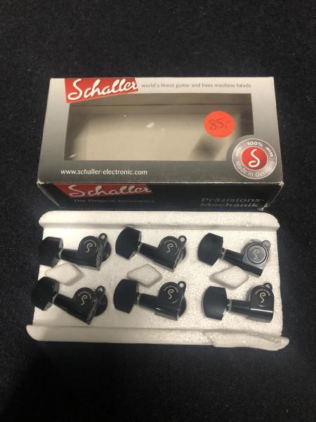 Schaller M6 Mini Toplock 6 Left Black