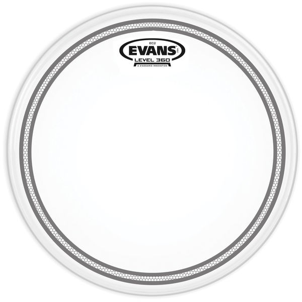 "Evans 10"" EC2S/SST Tom Frosted"