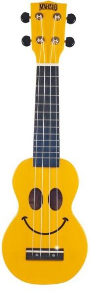 Mahalo Smiley Ukulele Yellow