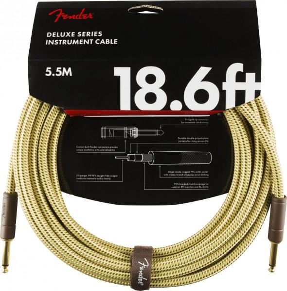 Fender Deluxe Tweed Instrument Cable 5,5m gerade