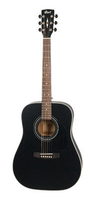 Cort Earth 70 Black Satin