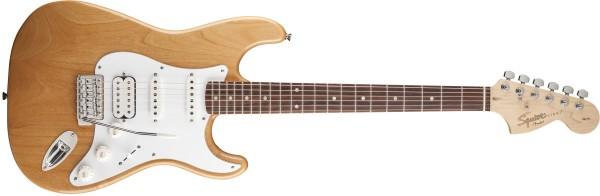 Fender Squier FSR Affinity Stratocaster HSS ILR Natur