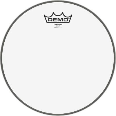 "Remo 10"" Emperor Transparent"