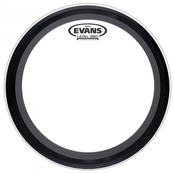 Evans E-Mad 16'' Clear Bass Drum