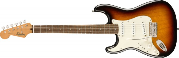 Fender Squier Classic Vibe 60s Stratocaster 3 Tone Sunburst Lefthand