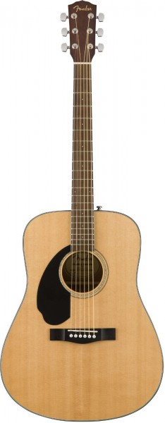 Fender CD-60 Lefthand Natural WN