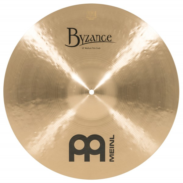 "Meinl 18"" Byzance Traditional Medium Thin Crash"