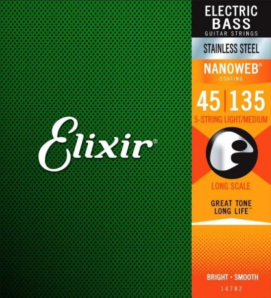 Elixir 14782 45-135 Stainless Steel