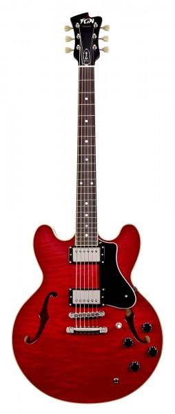FGN Masterfield Semi Acoustic Cherry