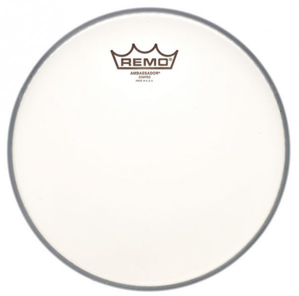 "Remo 14"" Ambassador Coated Fell"