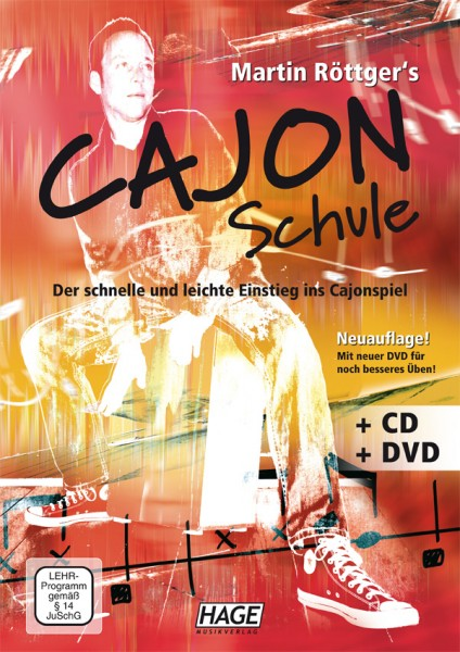 Hage Musikverlag Cajon Schule (Martin Röttger)