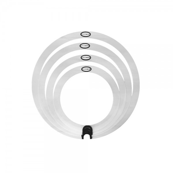 "Big Fat Round Sound Rings 4 Pack 10"", 12"", 14"", 16 BFSDSPRS"