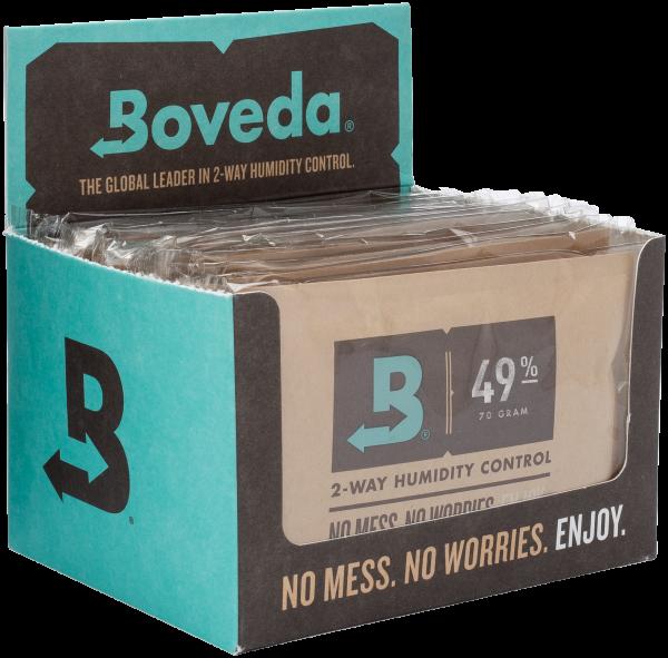 BOVEDA Luftfeuchtigkeitsmanagement 49%