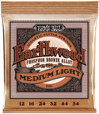 Ernie Ball EB2146 Earthwood 12-54