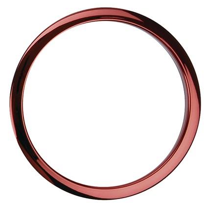 Bass Drum O´s HCR-6'' Red Chrome